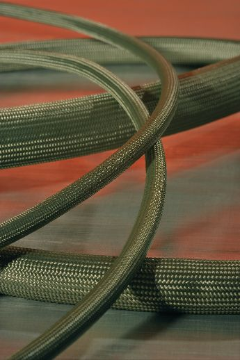 Helagaine HEGMAN and HEGMANWO cable protection braided sleeving